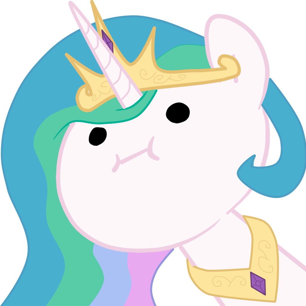 Celestia_face by LiquidPlazma