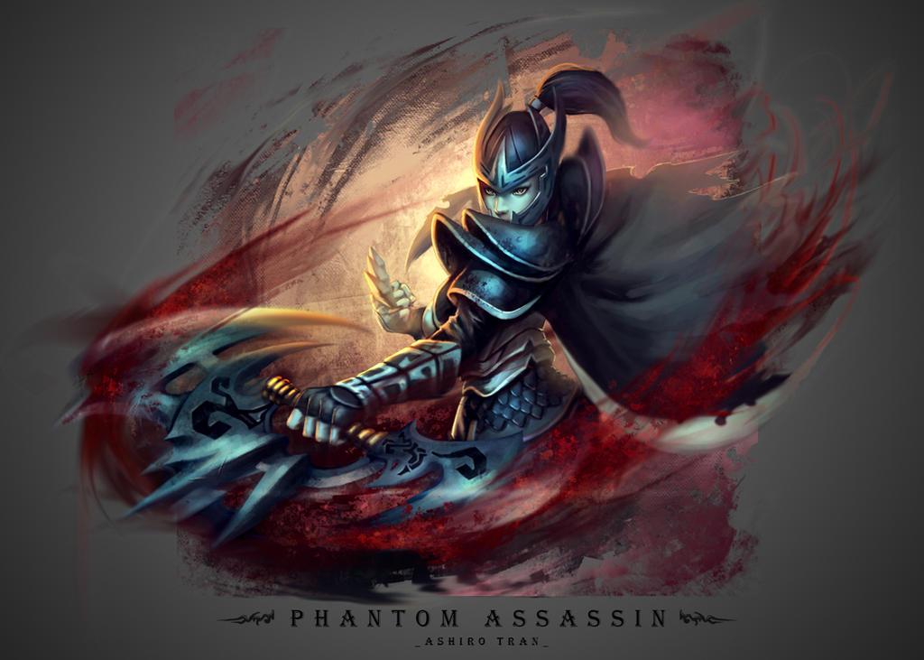 Phantom Assassin By AshiroK On