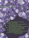 Bubbles Purple