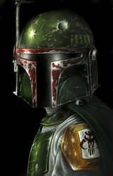 Mandalorian Outlaw by AstroVisionary
