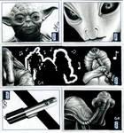 Topps Star Wars Galaxy Pt V