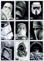 Topps Star Wars Galaxy Pt II