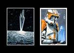 Star Wars sketch cards IV
