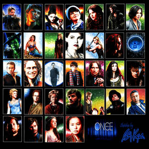 Once Upon a Time sketch cards