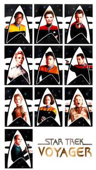 Voyager sketch cards