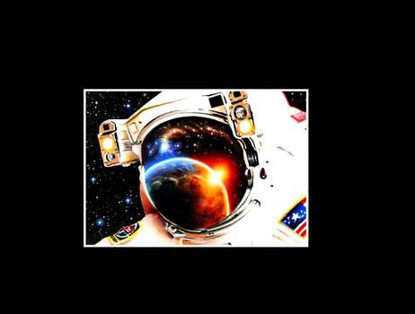Astronaut ACEO
