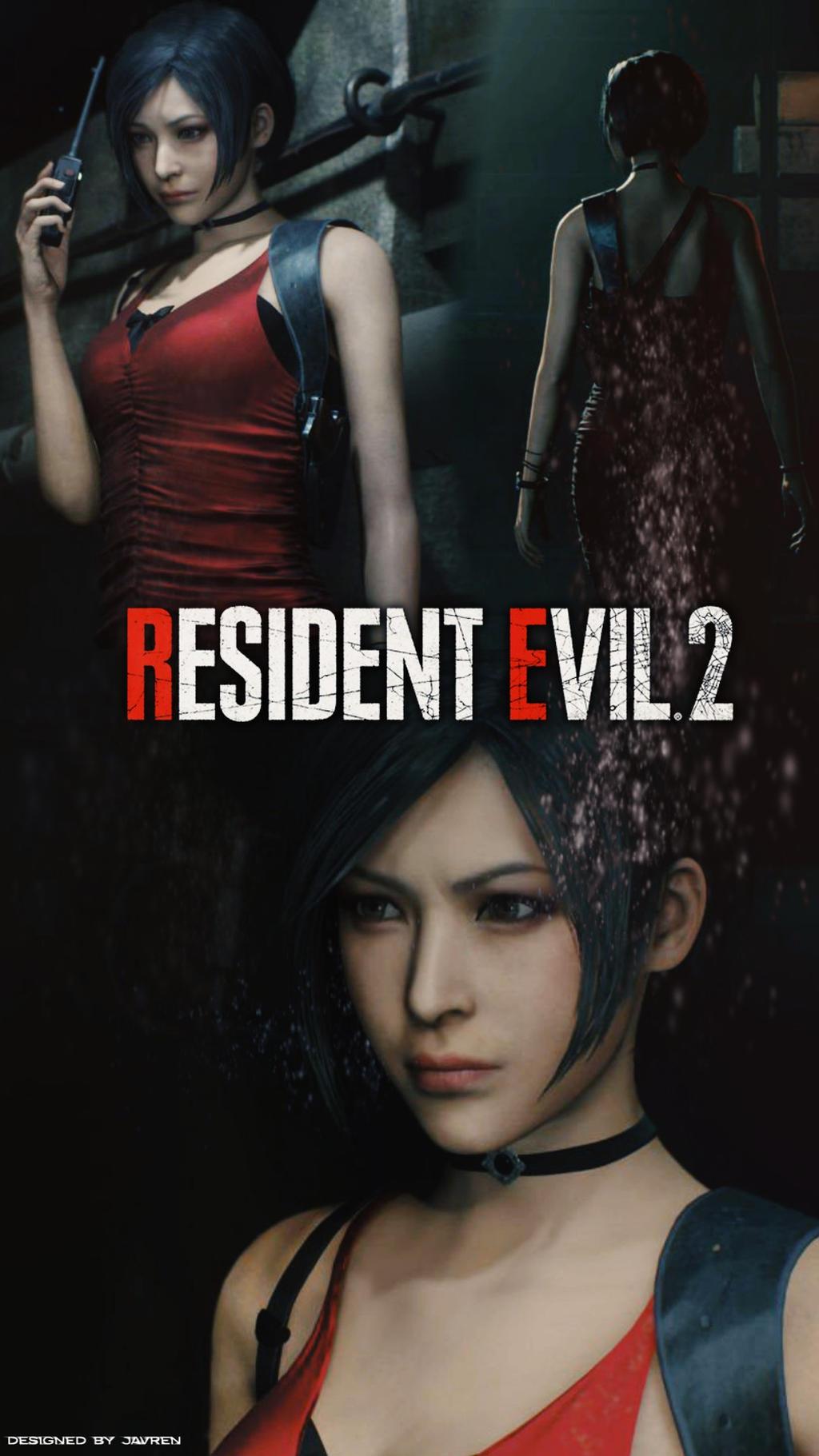 Resident Evil 2 Remake Ada Wong Mobile Wallpaper By