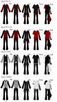 J.E Male's Rank Uniforms