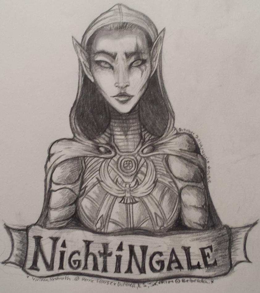 Nightingale by 00QuothTheRaven00