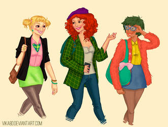 Dodie Ginger Macie by vika8D