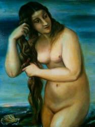 Venus Anadyomene, after Titian by nicolepellegrini