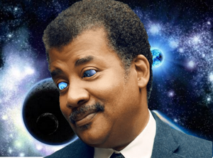 Space makes me silly