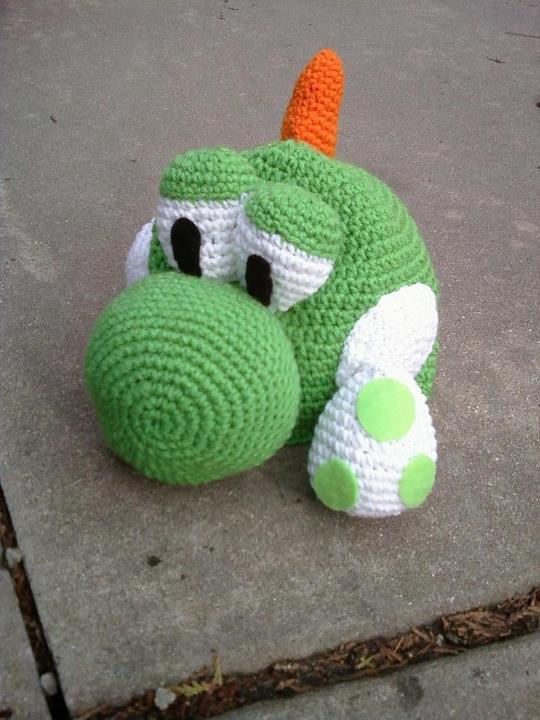 Free Yoshi Egg Crochet Pattern : Crochet Yoshi Hat by Ashler-Sauce on DeviantArt