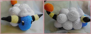 Crochet Mareep by Ashler-Sauce