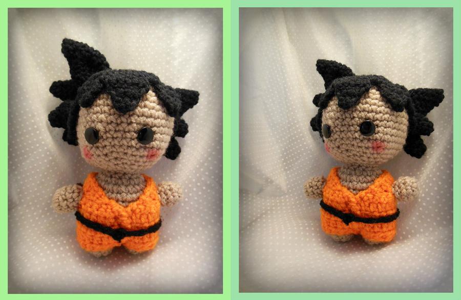 Amigurumi Big Ball Pattern : Chibi Kid Goku Amigurumi by Ashler-Sauce on DeviantArt