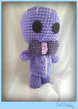 Purple Crochet Sackboy