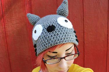 Crochet Totoro Hat by Ashler-Sauce