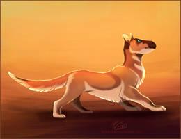 Sand Walker by Flora-Tea