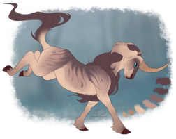 [closed] adopt - Goat Unicorn (Goaticorn) by Flora-Tea