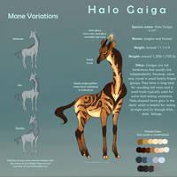 [Open Species] Halo Gaiga by Flora-Tea