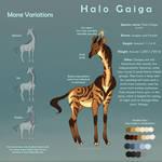 [Open Species] Halo Gaiga