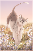 [YCH] Flowery Hill by Flora-Tea