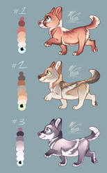 [1/3 open] Puppers $8 by Flora-Tea