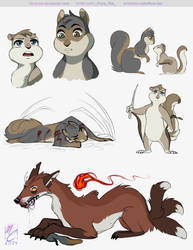 Romeo and Juliet but anime squirrels?
