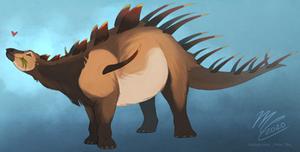 Paleovember 4: Kentrosaurus