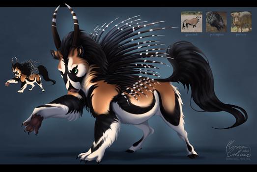 [sold] Adopt: Hybrid Beast 6