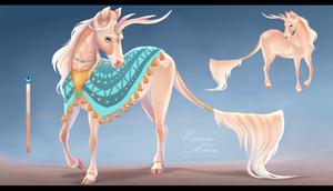 [sold] Adopt: Desert Royal Kirin