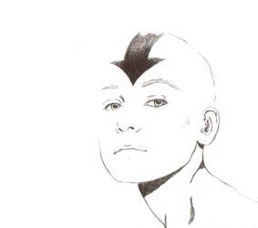 Aang The Last Airbender minimalist by UnCrystalClear
