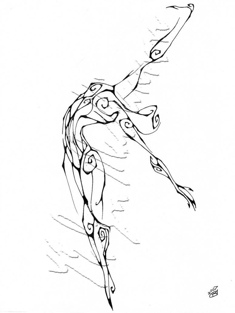 Dream Dance By Line Art Inc : Inkblot dancer extension by chimeradreams on deviantart