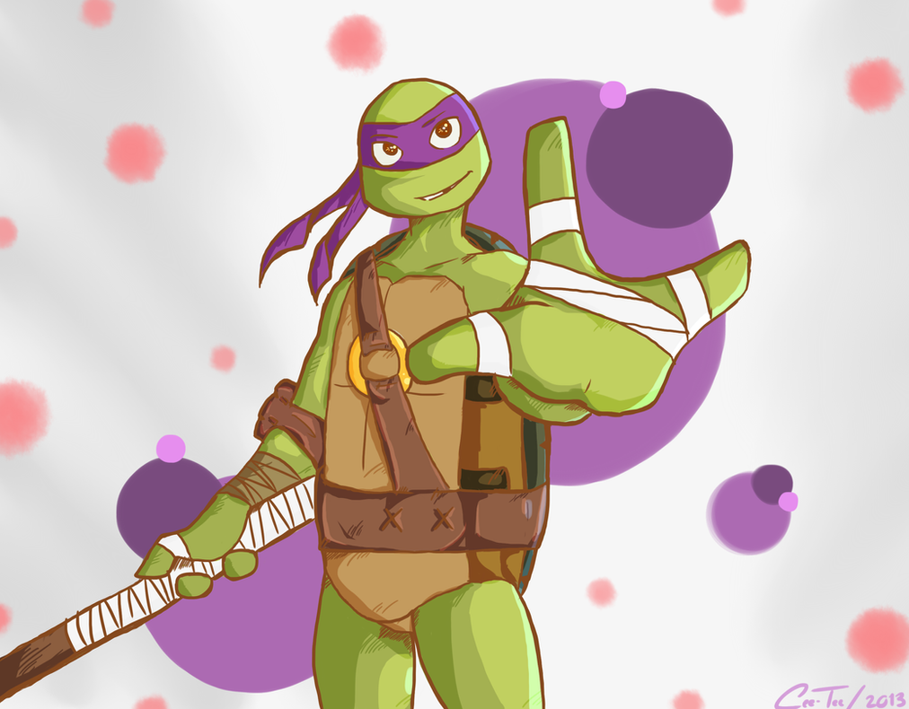 Hamato Donatello by Cee-Tee