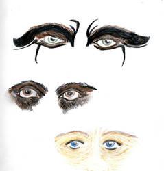 Eye and markings by Castiel-Abhorsen