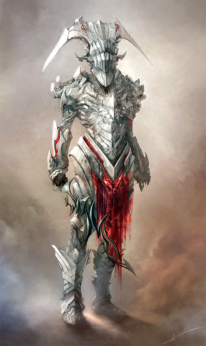 White knight by Haco1 on DeviantArt