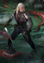 Geralt of Rivia by Haco1