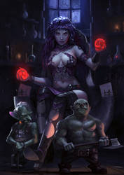 Witch and Goblins by Haco1
