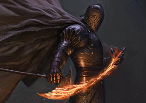 Pyromancer Knight