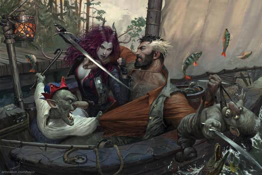 Tiefling and Goblins II