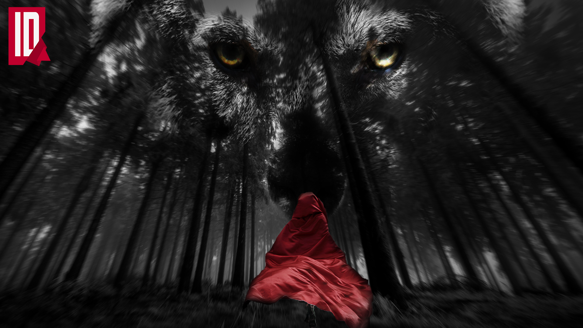 little red riding hood wallpaper by individualdesign on