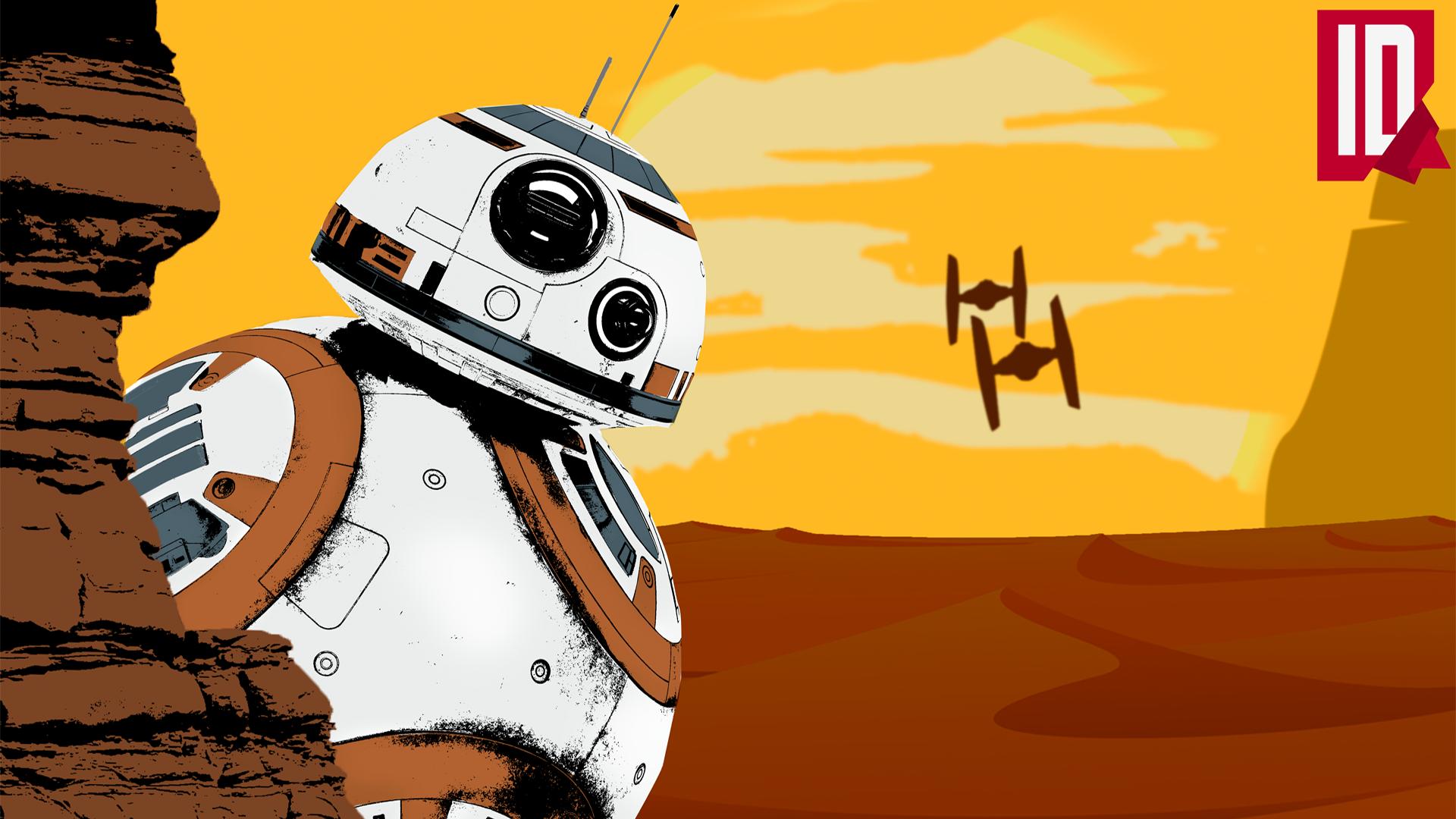 Star Wars Bb 8 Wallpaper By Individualdesign On Deviantart