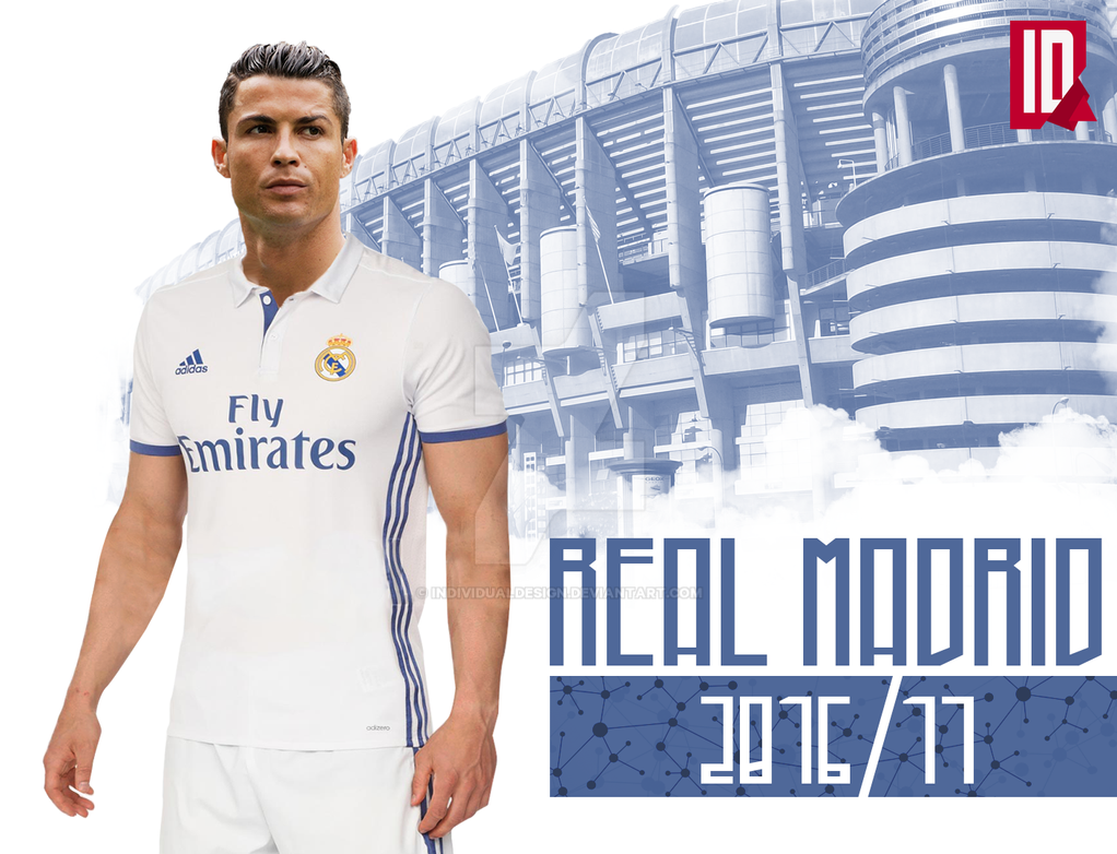 real madrid official home kit 2016 17 by individualdesign. Black Bedroom Furniture Sets. Home Design Ideas