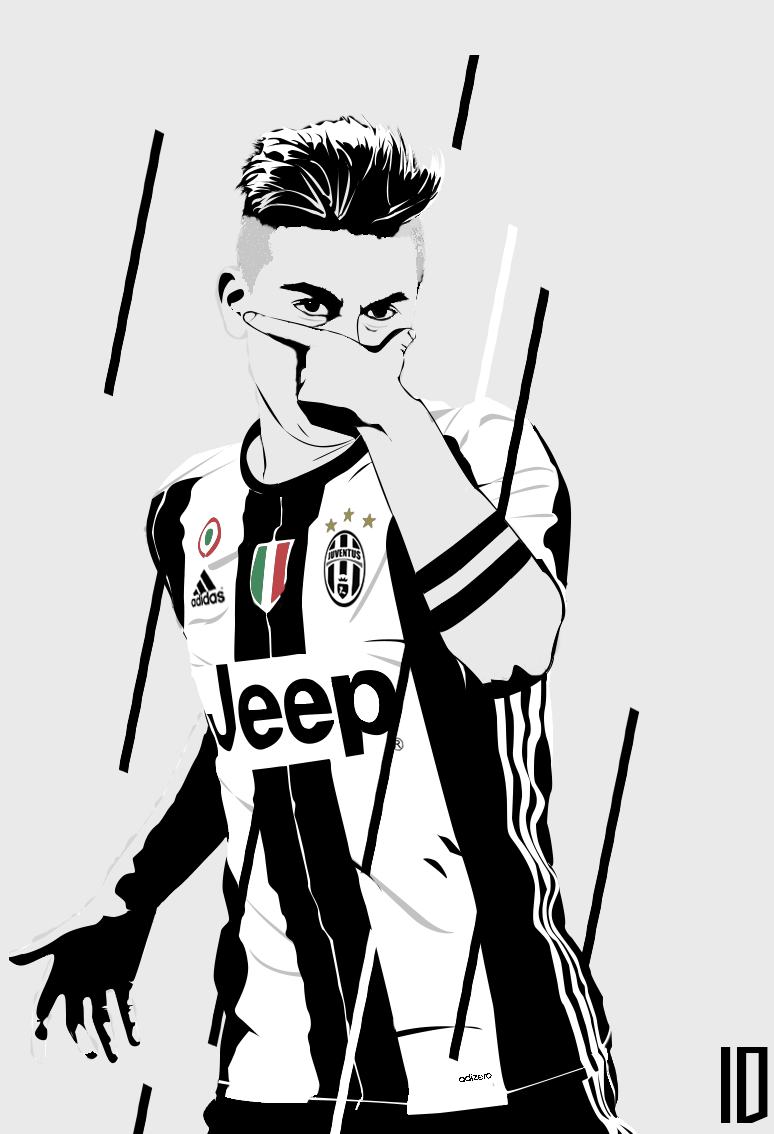 Dybala Vector Wallpaper By Individualdesign On Deviantart