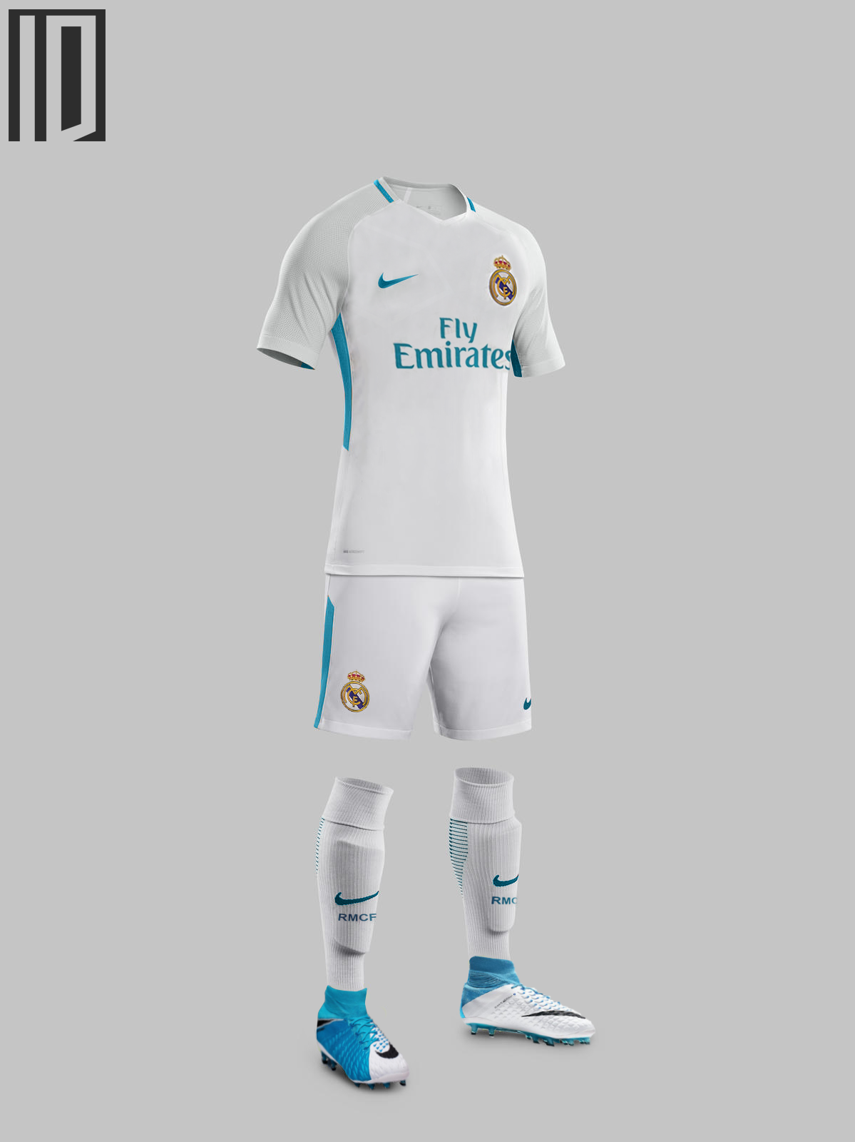 the latest 52f2d 58276 Nike Real Madrid 17-18 Concept Kit by IndividualDesign on ...