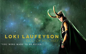 Loki Laufeyson - 1680 x 1050 WS Wallpaper by beanhugger