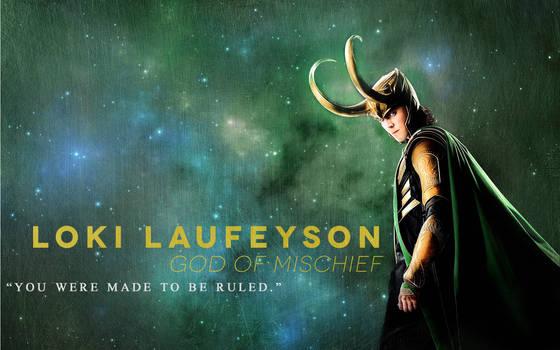 Loki Laufeyson - 1680 x 1050 WS Wallpaper