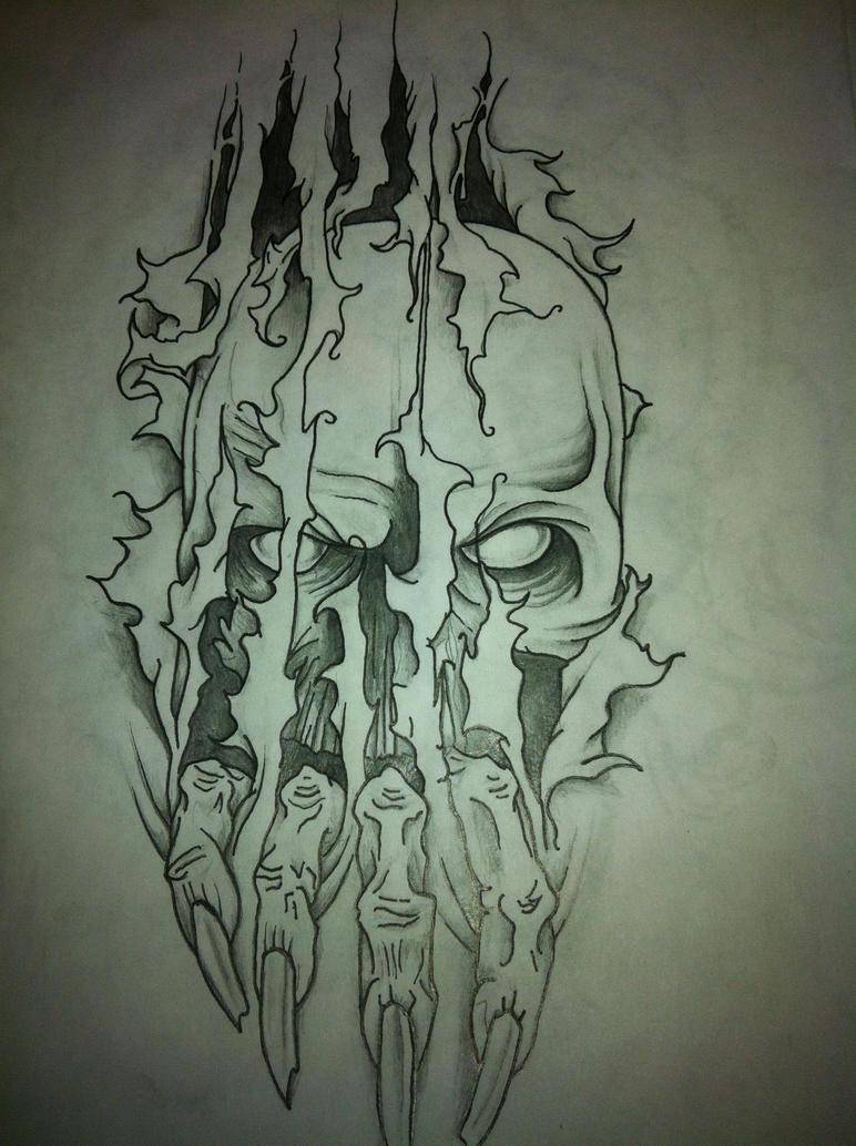 Line Drawing Tattoo London : Tattoo line drawing by machammac on deviantart