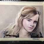 Emma Watson drawing finished.