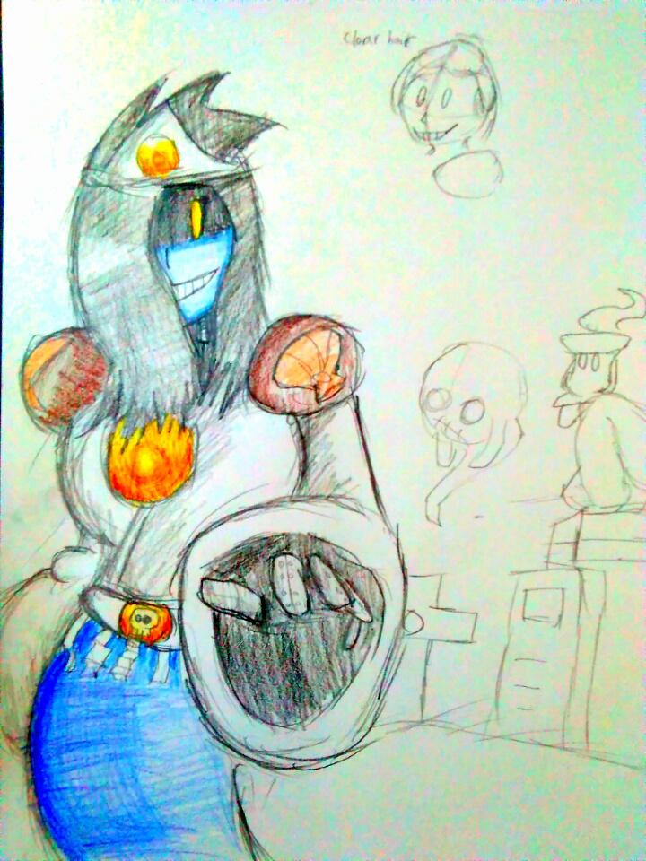 Rockman untitled RM refining - Yo-kai Woman by shadowmanwily